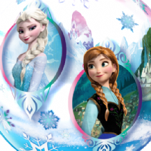 "Disney Frozen Bubble Balloon (22"") 1pc"